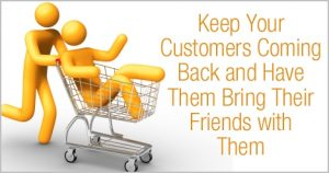 Customers bring your friends
