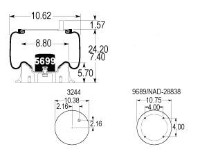 9580 Air Bag specs