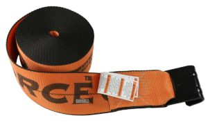 Cargo control k-force winch strap