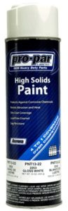White High Solids Paint & TIMKEN